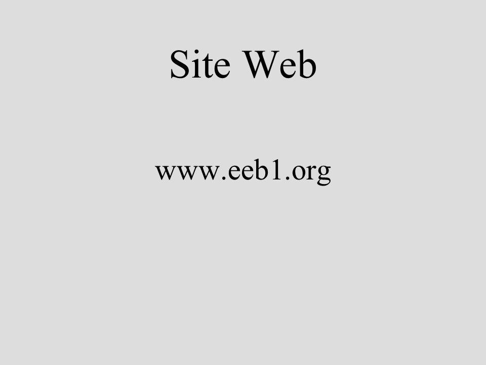 Site Web www.eeb1.org