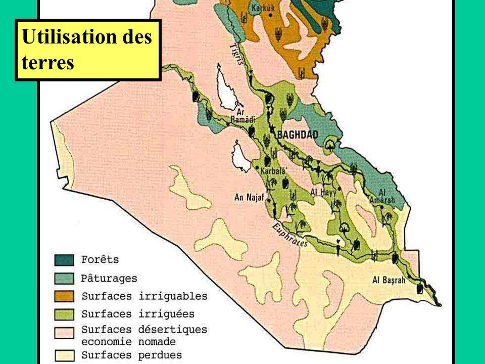 Utilisation des terres