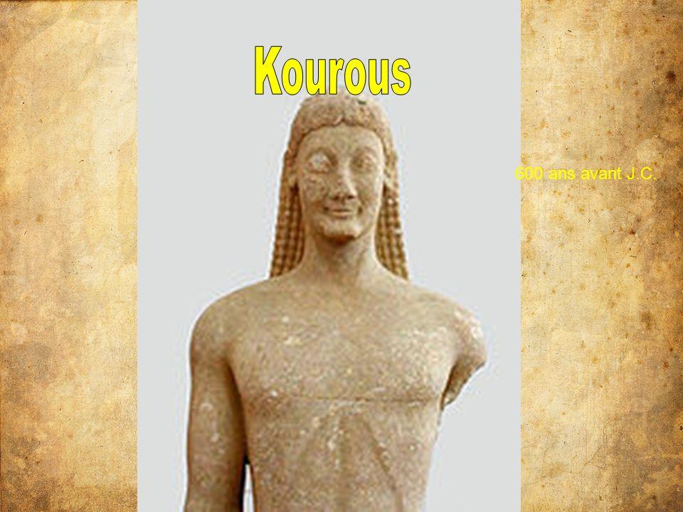 De 500 à 330 ans avant Jésus Christ Révolution dans lart grecque – associé au démocratie Plus naturel Vrai personnes Fabriqué en bronze