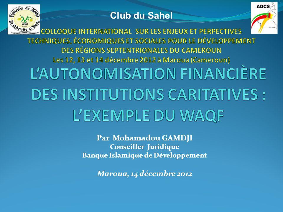 TYPOLOGIE DES INSTITUTIONS CARITATIVES Fonds de dotation (Suite) Le fonds de dotation dispose librement de ses ressources dans la limite de son objet social.