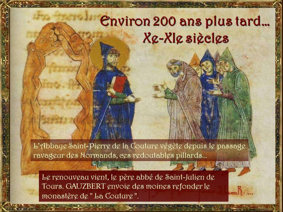 Les moines de lAbbaye de la Couture, comme tous les moines bénédictins, chantent la gloire de Dieu : Gloria in excelsis Deo ! En grégorien déjà…