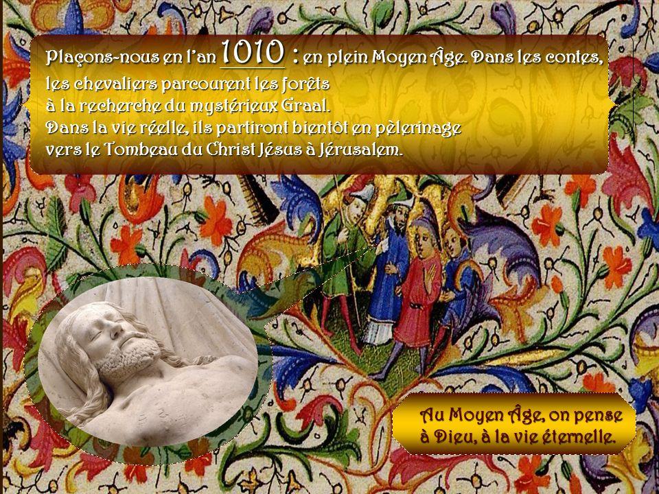 Environ 200 ans plus tard… Xe-XIe siècles LAbbaye Saint-Pierre de la Couture végète depuis le passage ravageur des Normands, ces redoutables pillards…