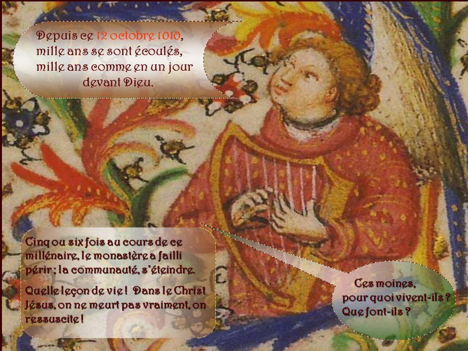 Cet idéal, la petite communauté allait commencer à le vivre… …dans le nouveau prieuré fondé à Solesmes*, sur la rive gauche de la Sarthe. Il y avait d