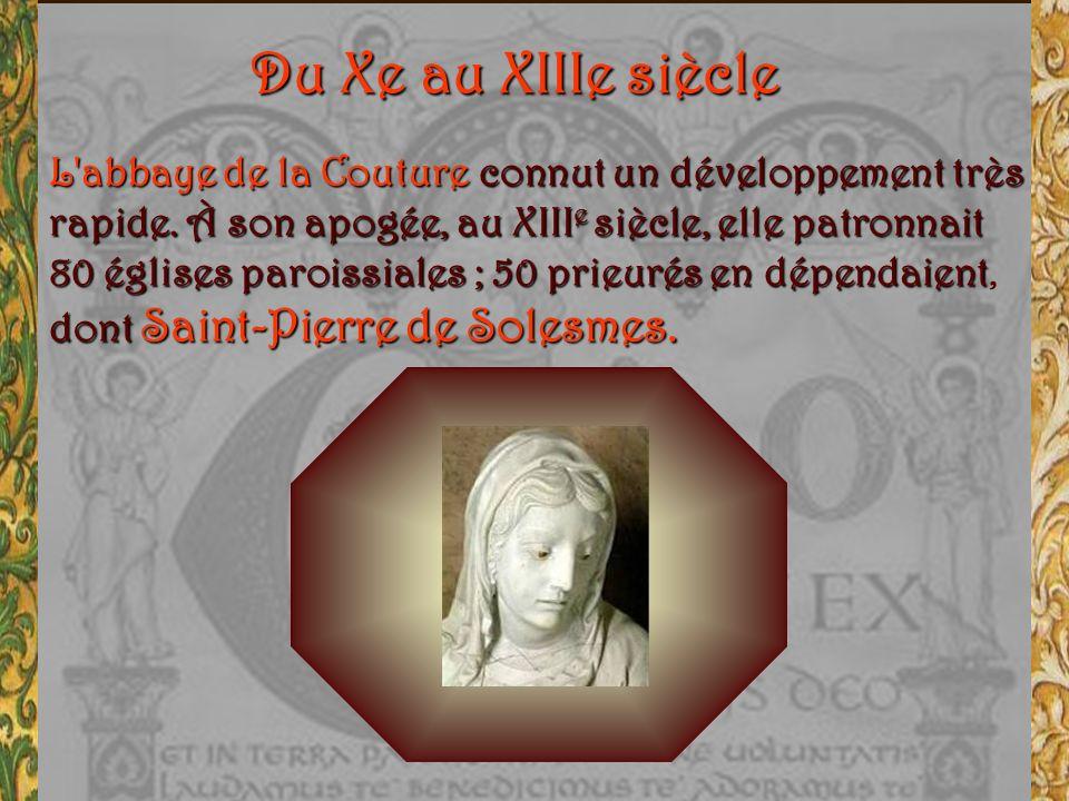 Saint Pierre de Solesmes Pourquoi saint Pierre ? En choisissant le patronage du prince des Apôtres, les moines se plaçaient au cœur de la chrétienté.