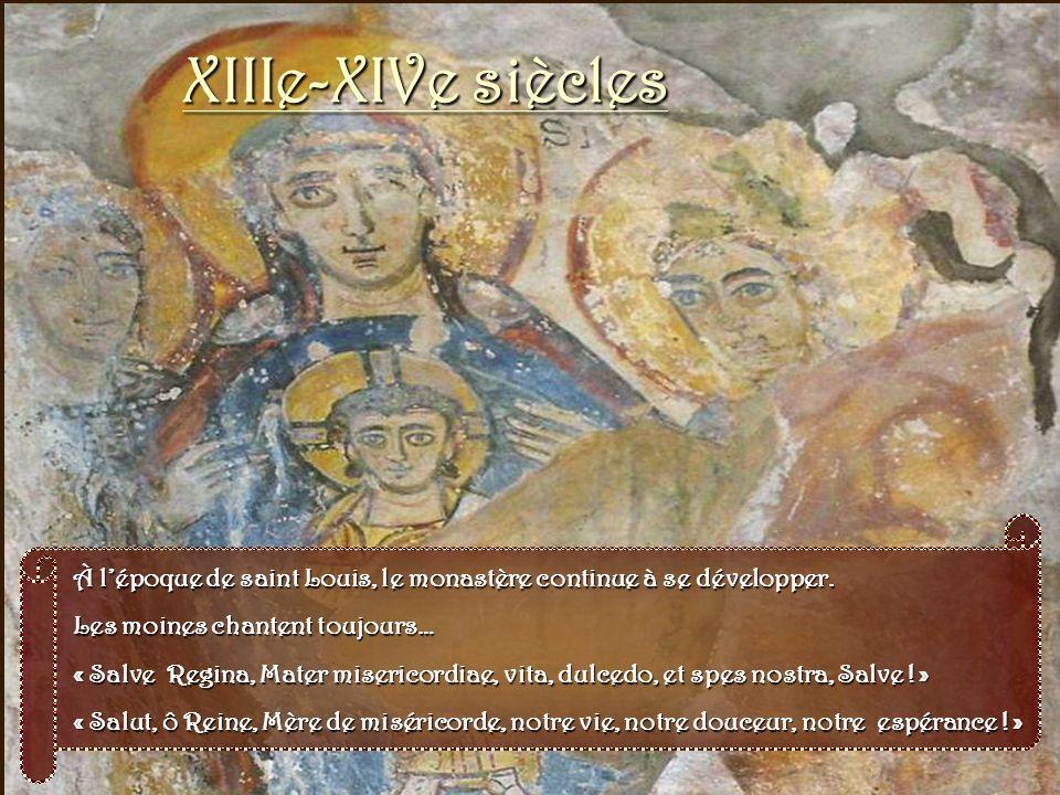 XIIe siècle La relique de la Sainte Épine À ces moines cachés dans ladoration et le travail, le Seigneur allait faire un présent digne de Lui : une re
