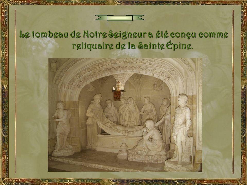 Marie-Madeleine La sérénité de ses traits et la ferveur de sa prière tendent surtout à exprimer la foi en la résurrection prochaine de Jésus.