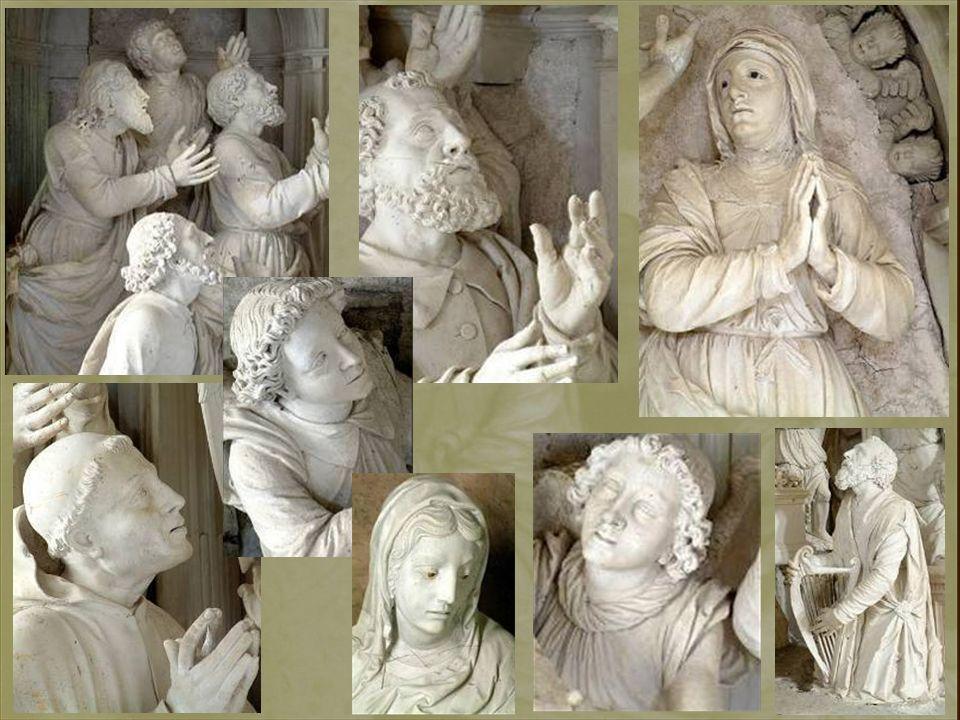 Le calme et la sérénité exprimés par le visage de la Vierge chassent toute idée de douleur et insistent sur le caractère surnaturel de sa mort. Son ex