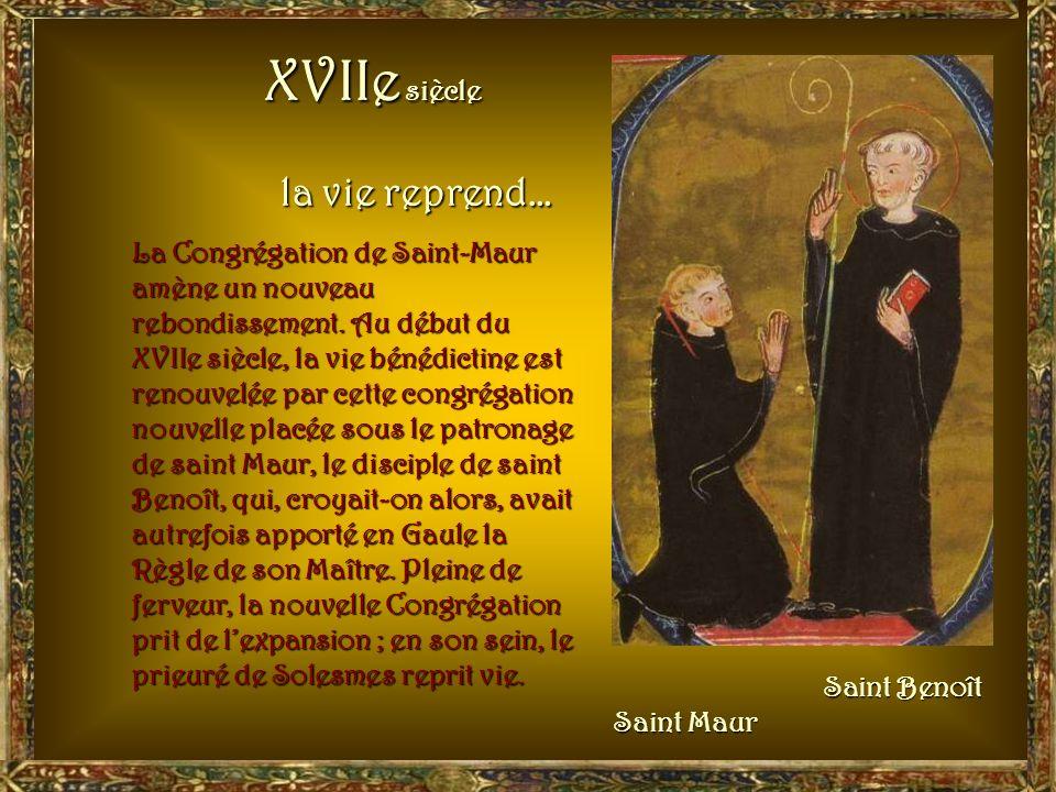 1518 : lÉtat sempare des revenus du monastère, cest ce quon a appelé la commende : les abbés n'étaient plus élus parmi les moines, mais désignés par l