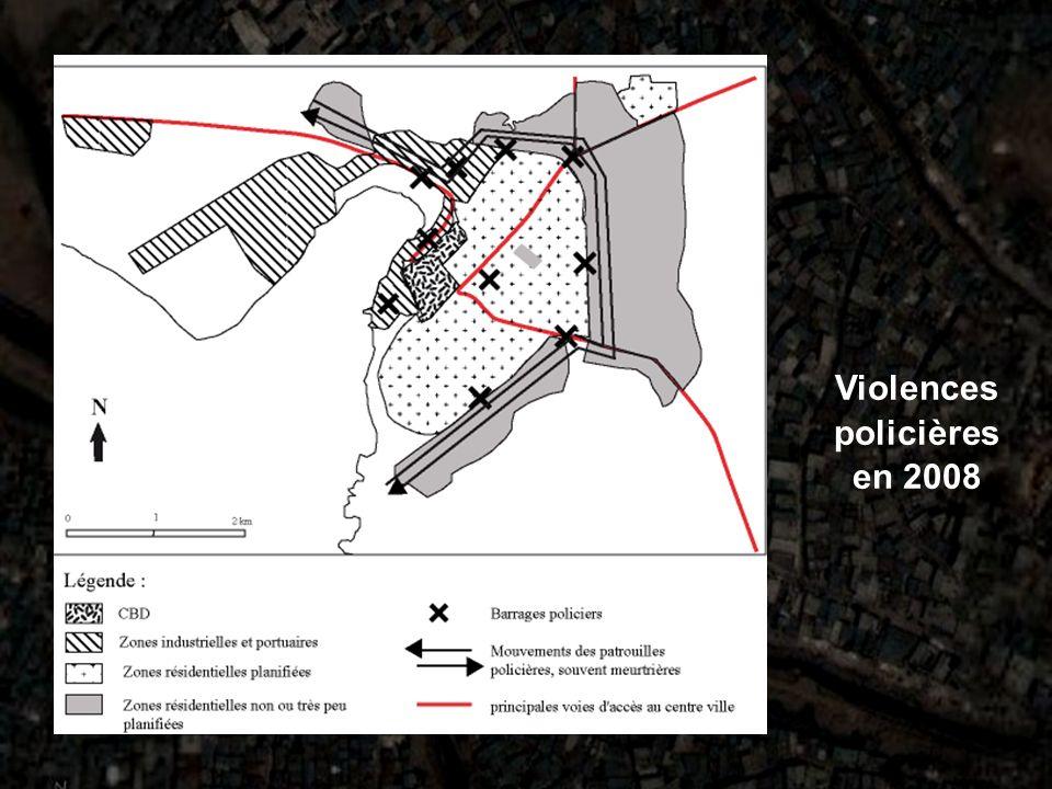 Violences policières en 2008