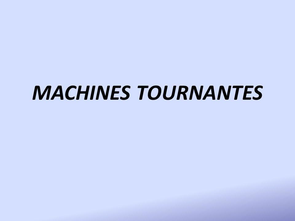MACHINES TOURNANTES
