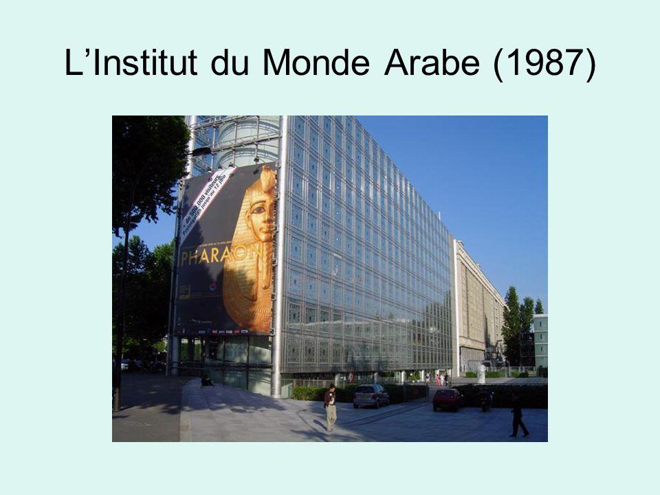 LInstitut du Monde Arabe (1987)