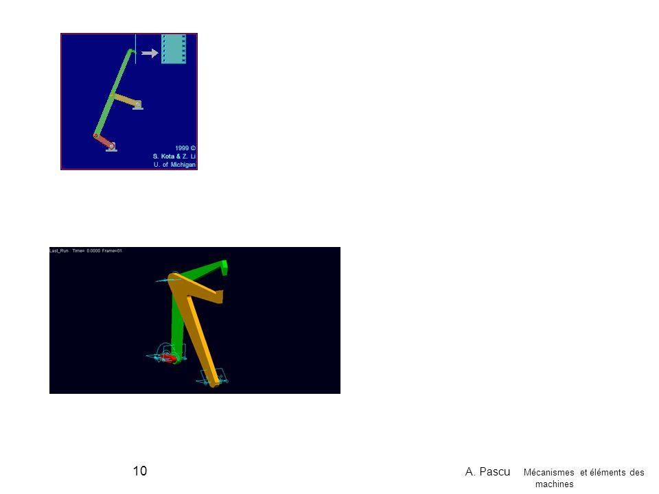 A. Pascu Mécanismes et éléments des machines 10