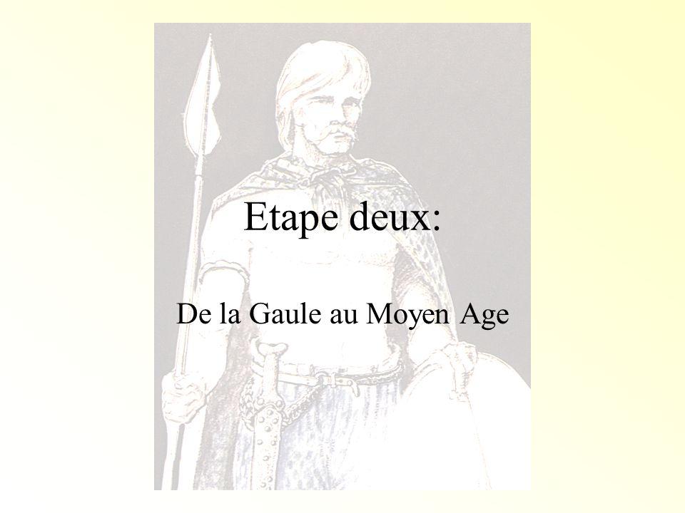 Jules César et les Gaulois Jules César ne sest pas arrêté avec la conquête de la Provincia romana.
