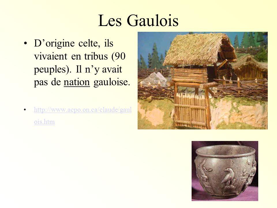 Batailleurs… Les Gaulois étaient des guerriers braves.