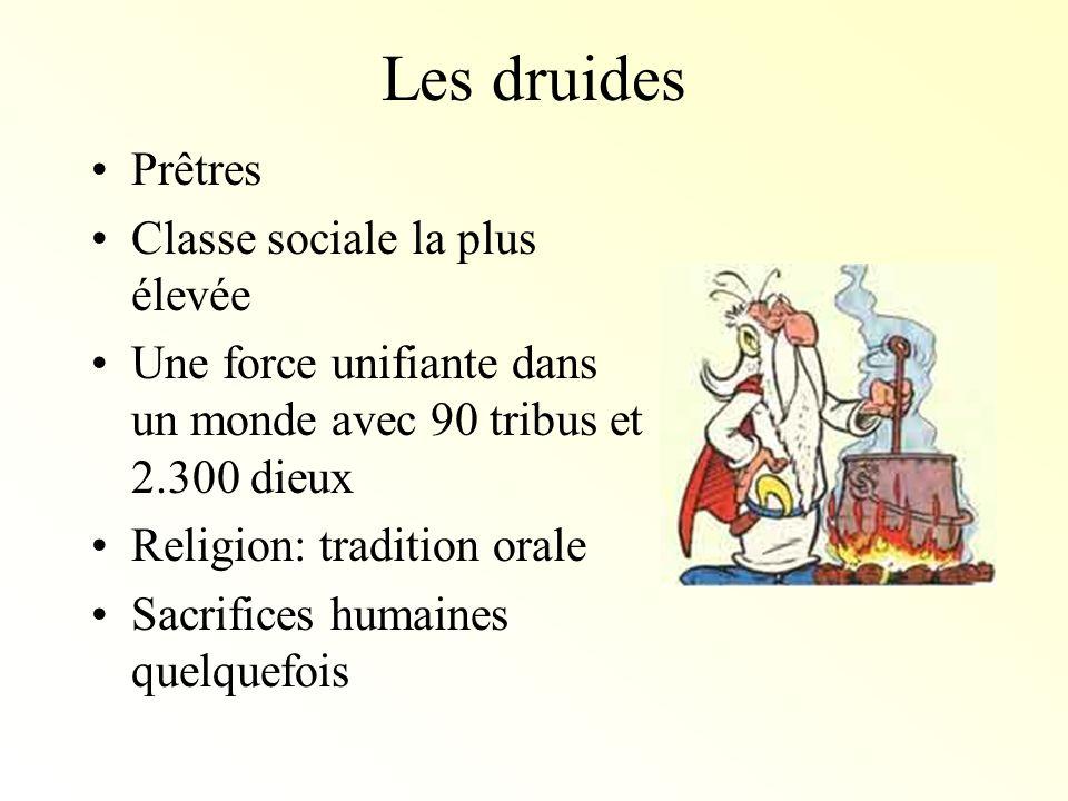 Lapparence des Gaulois