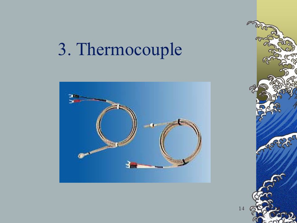 3. Thermocouple 14