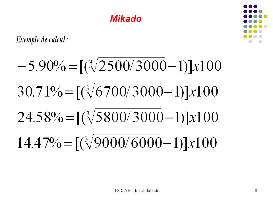 I.S.C.A.E. - benabdelhadi7 Mikado