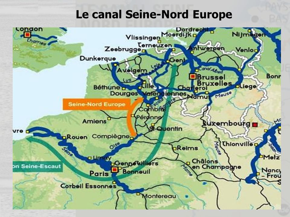 Le canal Seine-Nord Europe