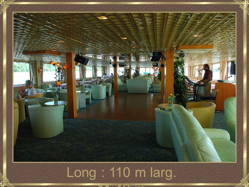 Long : 110 m larg. 11.40 m