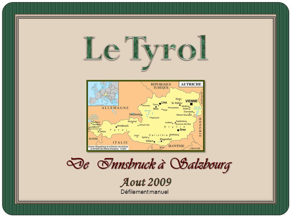 De Innsbruck à Salzbourg Défilement manuel