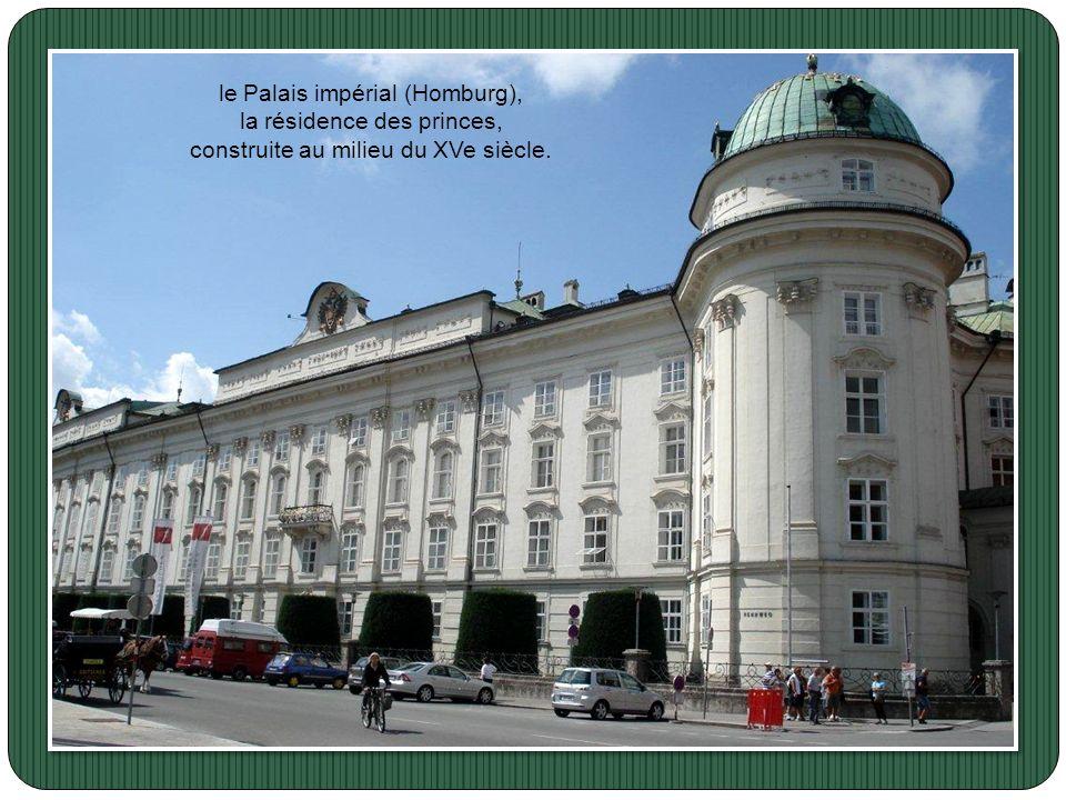 Le palais présidentiel de Salzbourg