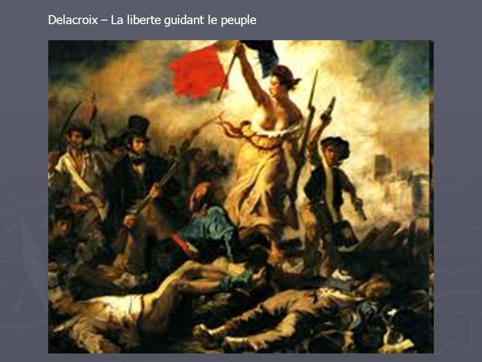 Delacroix – La liberte guidant le peuple