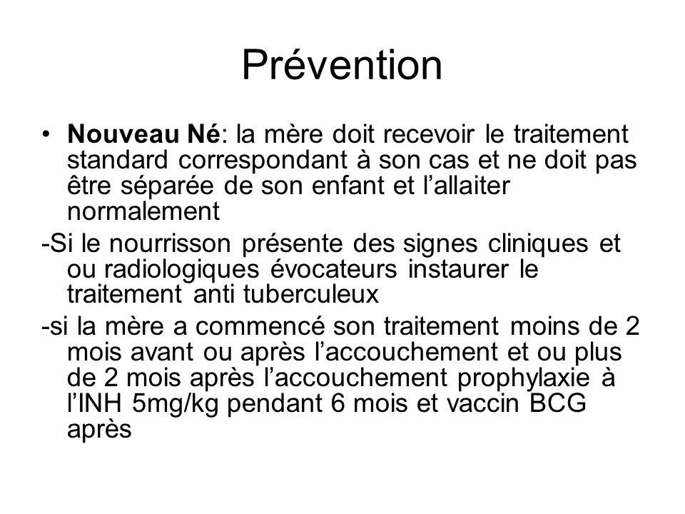 Prévention Nouveau Né: la mère doit recevoir le traitement standard correspondant à son cas et ne doit pas être séparée de son enfant et lallaiter nor