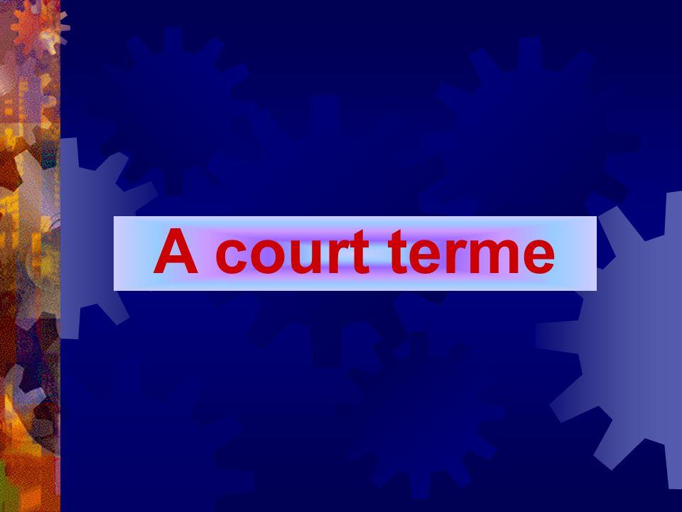 A court terme