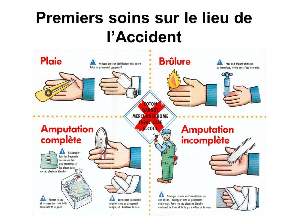 Premiers soins sur le lieu de lAccident