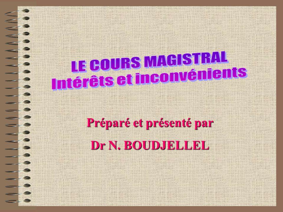 Sans interaction, le cours magistral devient un procédé à sens unique, désuet et inefficace.
