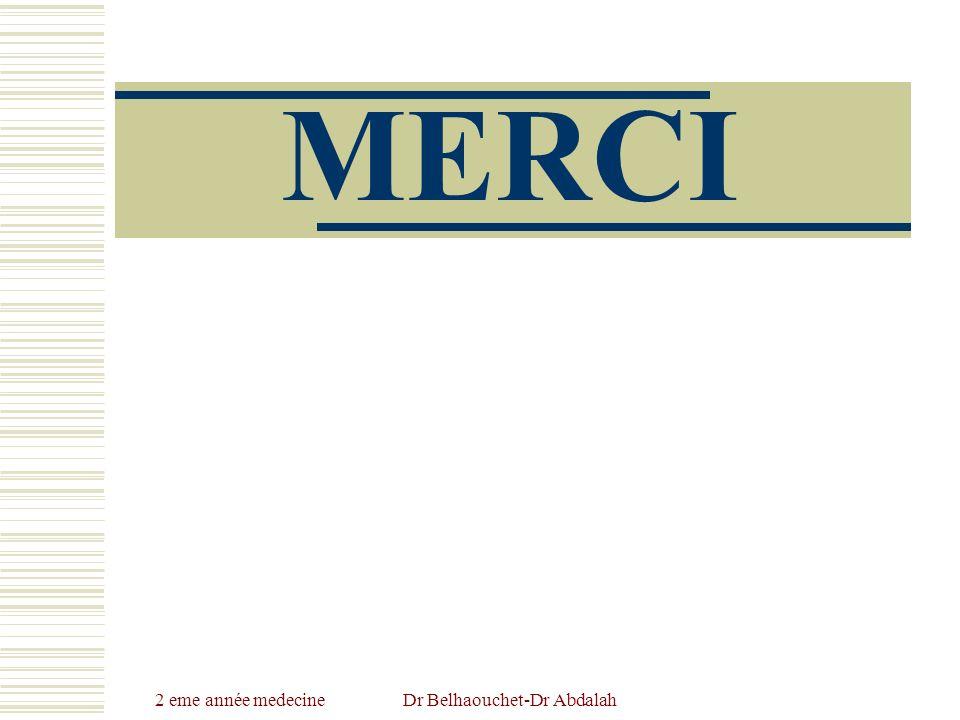 2 eme année medecineDr Belhaouchet-Dr Abdalah MERCI