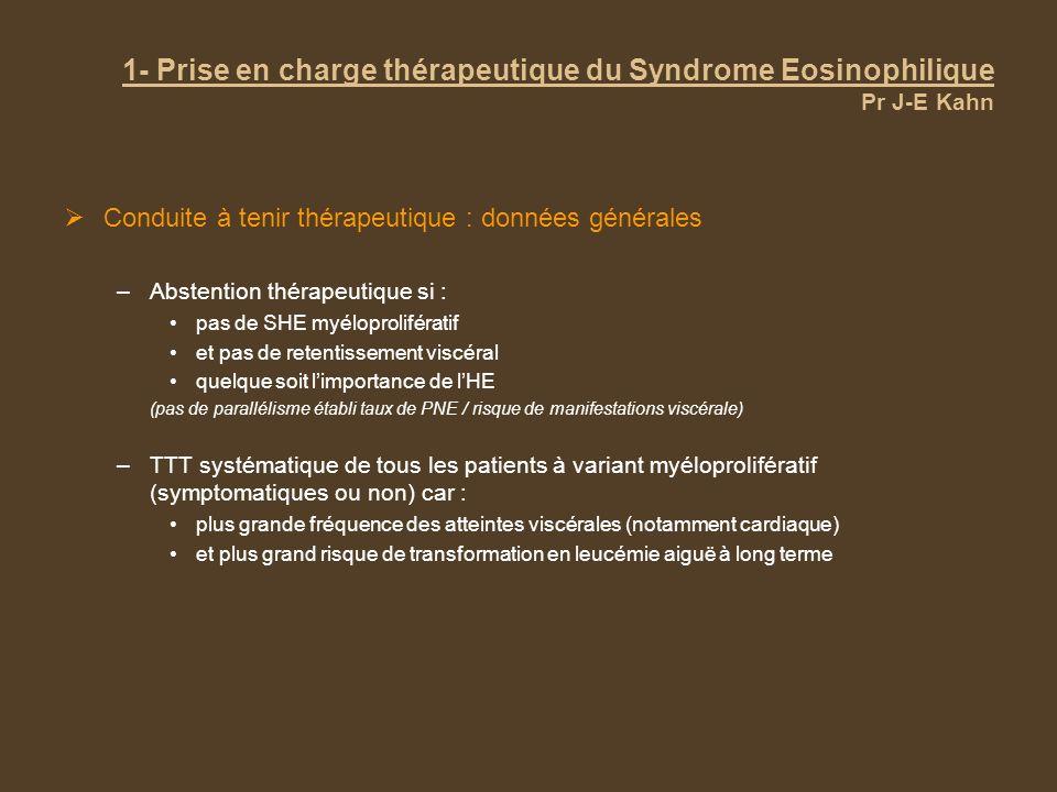 3- Prise en charge thérapeutique du PTI et des AHAI Pr B Godeau PTI Plaquettes >= 30 G/L de manière stable Surveillance Tf si pronostic vital en jeu Éradication dH.