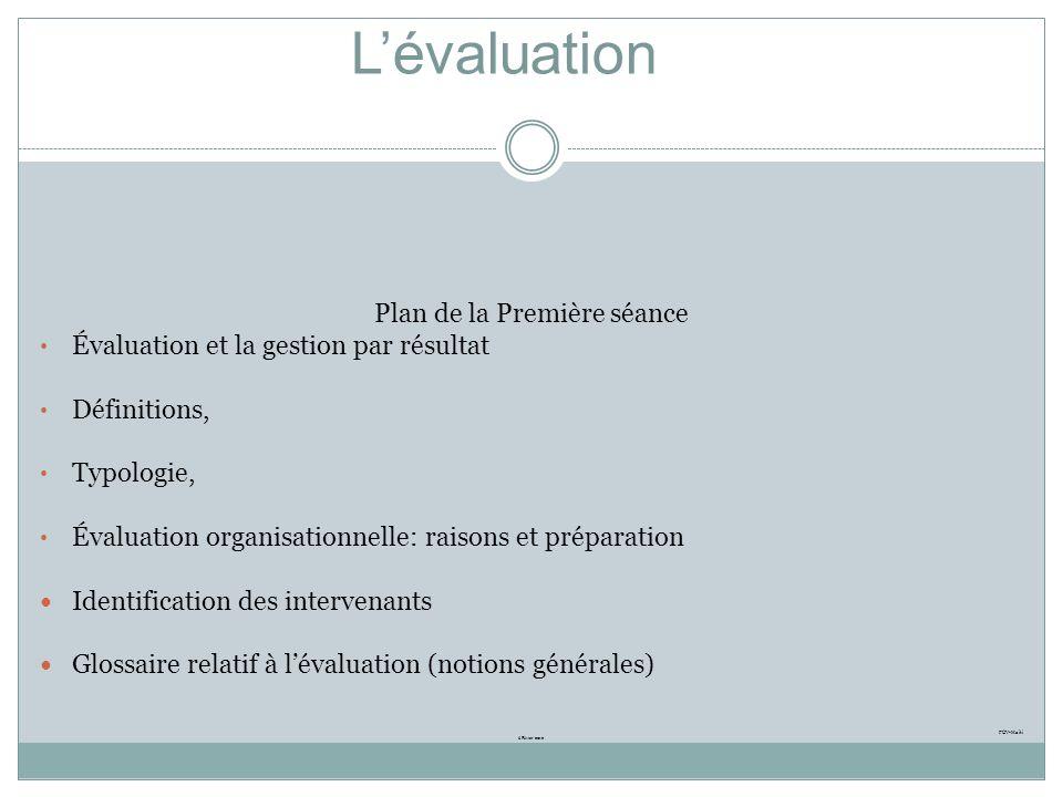 Programme de coopération volontaire en Haïti Composante gouvernance/éducation Formation des cadres et analystes de lINFP en évaluation organisationnel