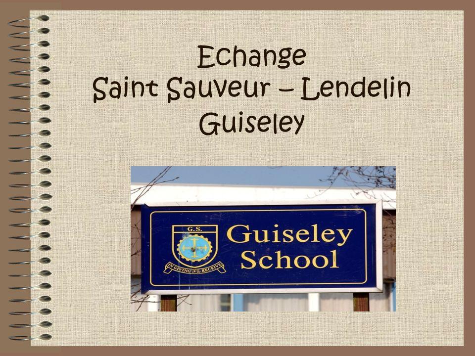 Echange Saint Sauveur – Lendelin Guiseley