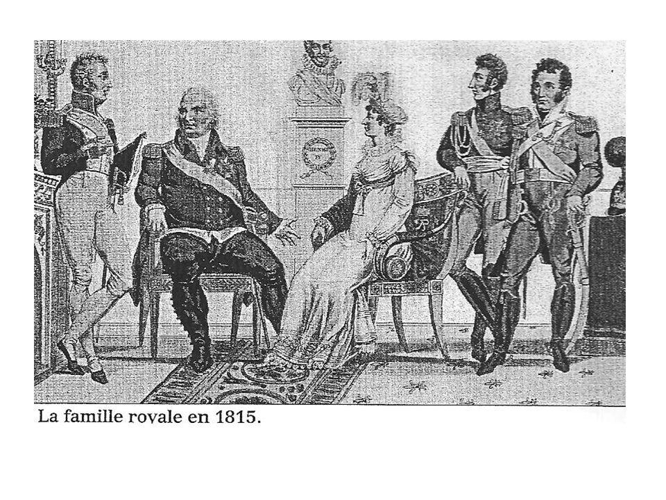 La Monarchie Constitutionnelle I / La restauration (1815 à 1830) * Louis XVIII, un nouveau roi Après labdication de Napoléon, la monarchie est restaurée en France.