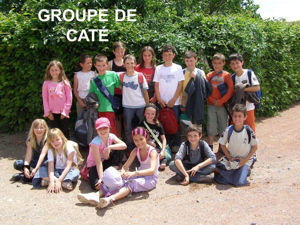 GROUPE DE CATÉ