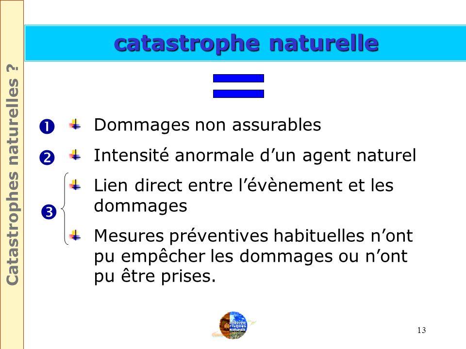 12 Quest-ce quune catastrophe naturelle ?