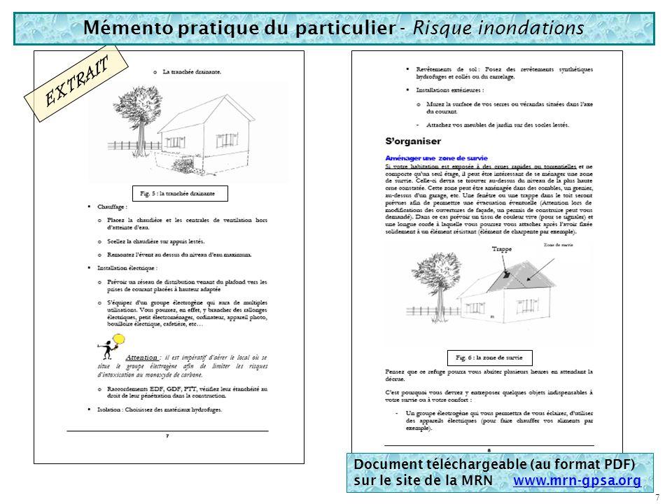 Risque « cyclones » Risque « sismique » Documents de la MRN Risque « tempêtes » Risque « mouvements de terrain » Documents téléchargeables (au format
