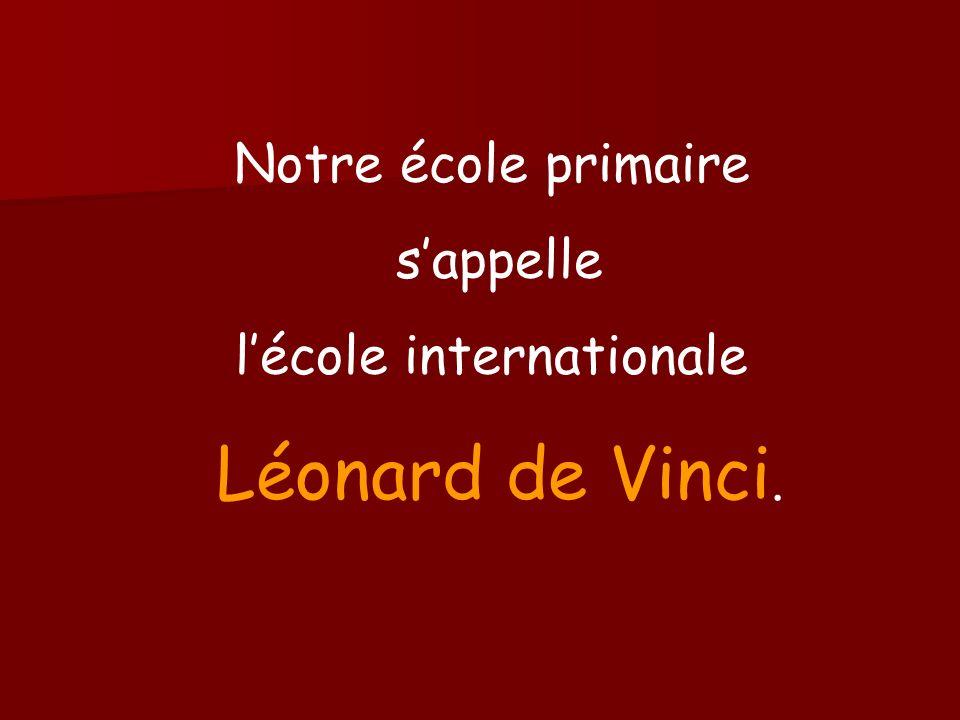Qui est Léonard de Vinci .Léonard de Vinci est né en 1452 en Italie.