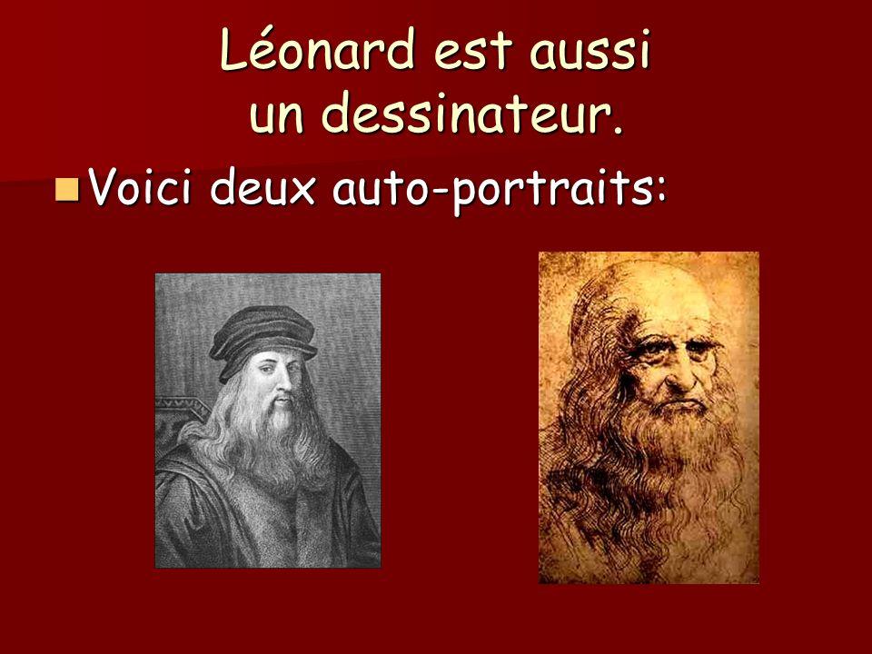 Léonard est aussi anatomiste.