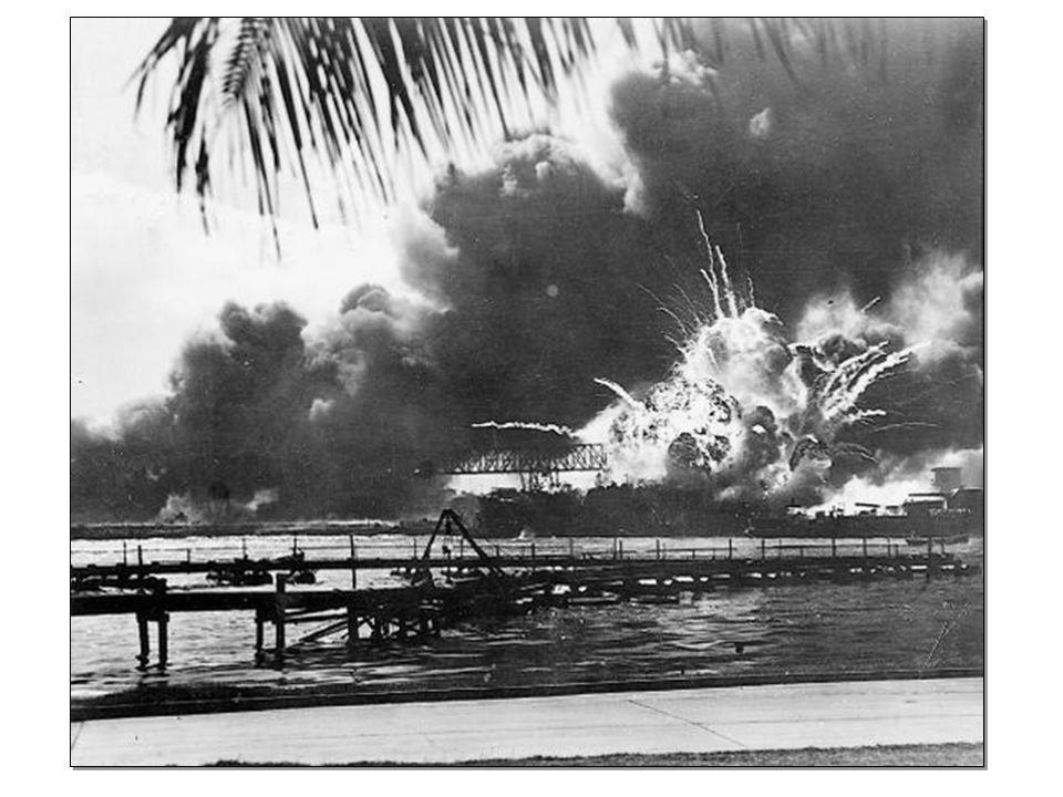 Afin de contrer lavancée des Japonais, les Américains installent de nombreuses bases militaires en Océanie.