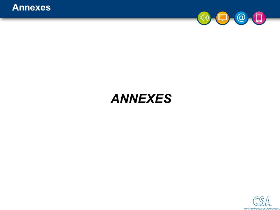 Annexes ANNEXES