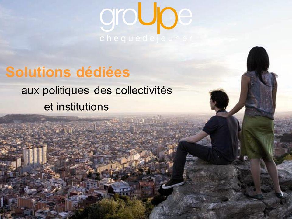 Solutions dédiées aux politiques des collectivités et institutions