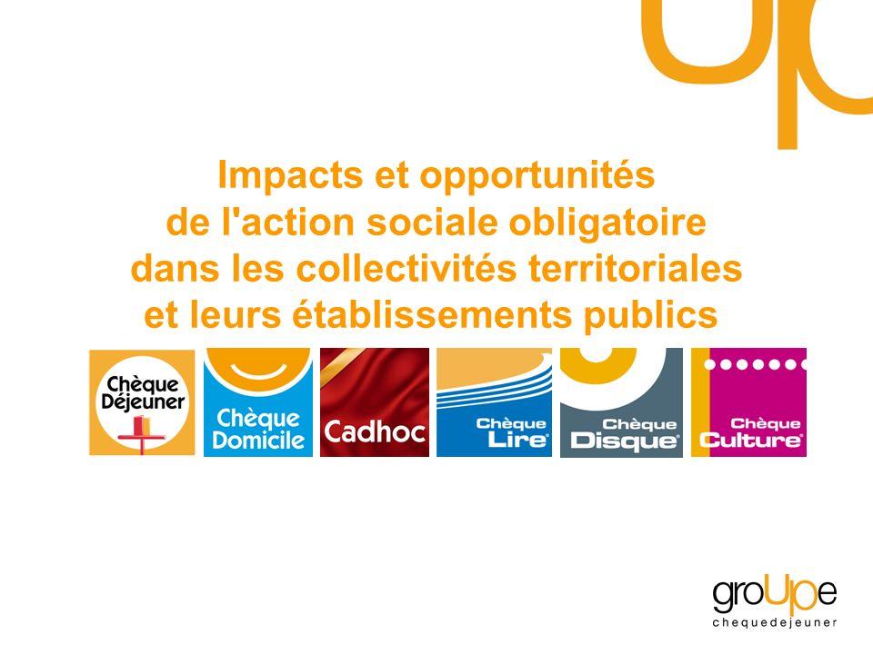 Impacts et opportunités de l action sociale obligatoire dans les collectivités territoriales et leurs établissements publics