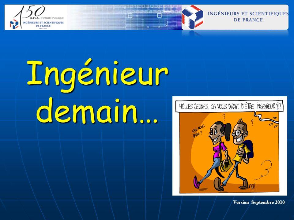 Ingénieur demain… Version Septembre 2010