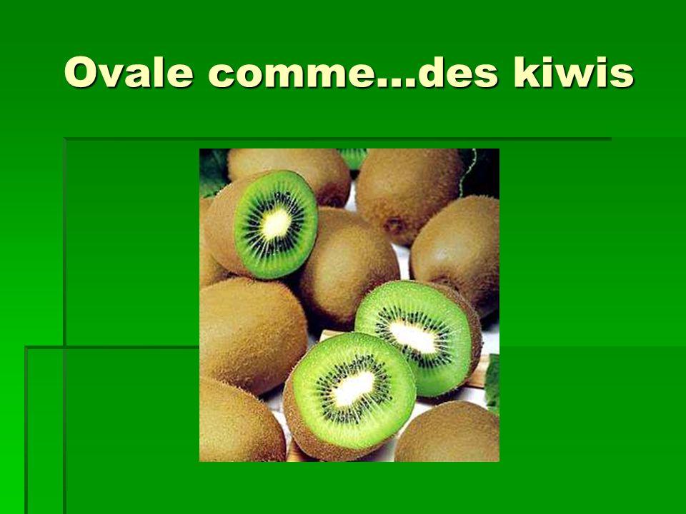 Ovale comme…des kiwis