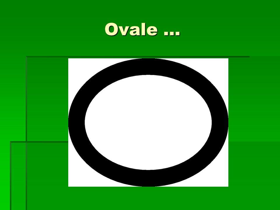 Ovale …