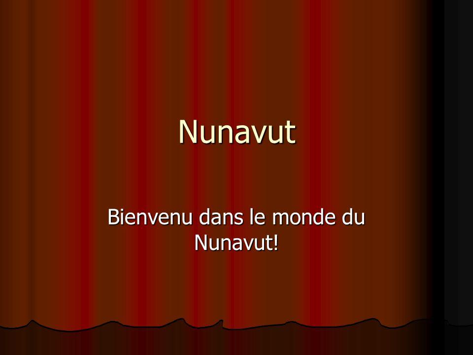 Nunavut Bienvenu dans le monde du Nunavut!