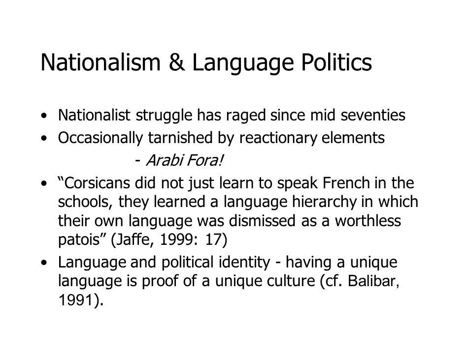 Corsican language Peut-être dans vingt ans, si toutes les écoles enseignent le corse, dans toutes les écoles, peut-être quon aurait des lecteurs corses.