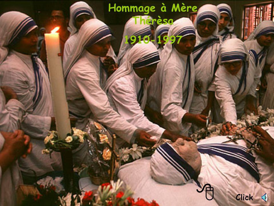 Click Hommage à Mère Thérèsa 1910-1997